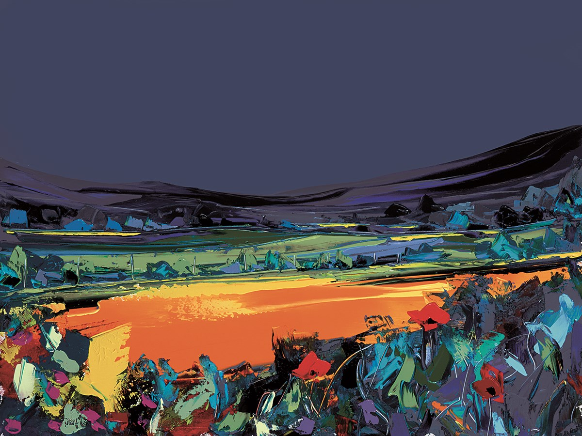 Summer Meadow by Duncan MacGregor - Hand Finished Limited Edition on Paper sized 20x15 inches. Available from Whitewall Galleries